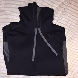 Navy Nike drifit Hoodie